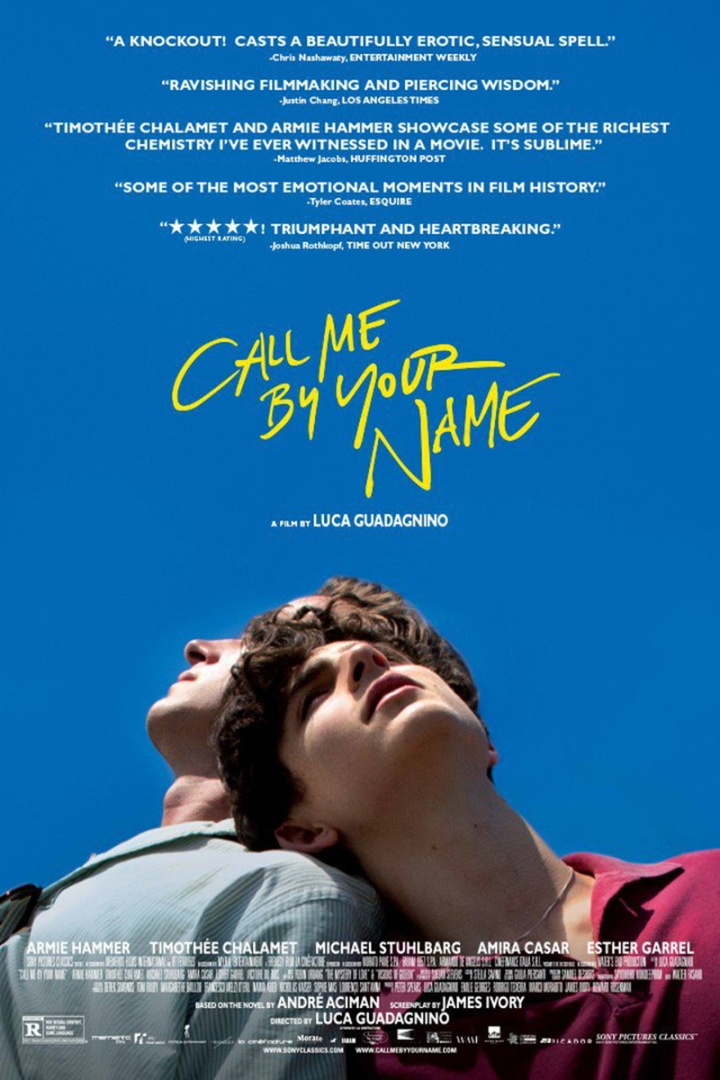 Call me by your name★★★★,5