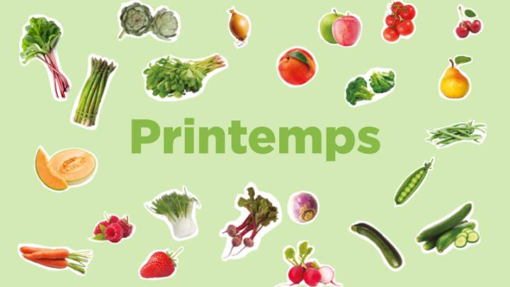 SPRING – Fruits & Légumes desaison