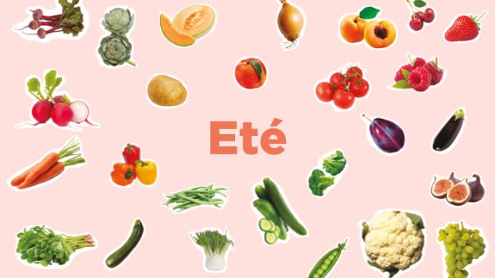 Summer – Fruits & Légumes desaison